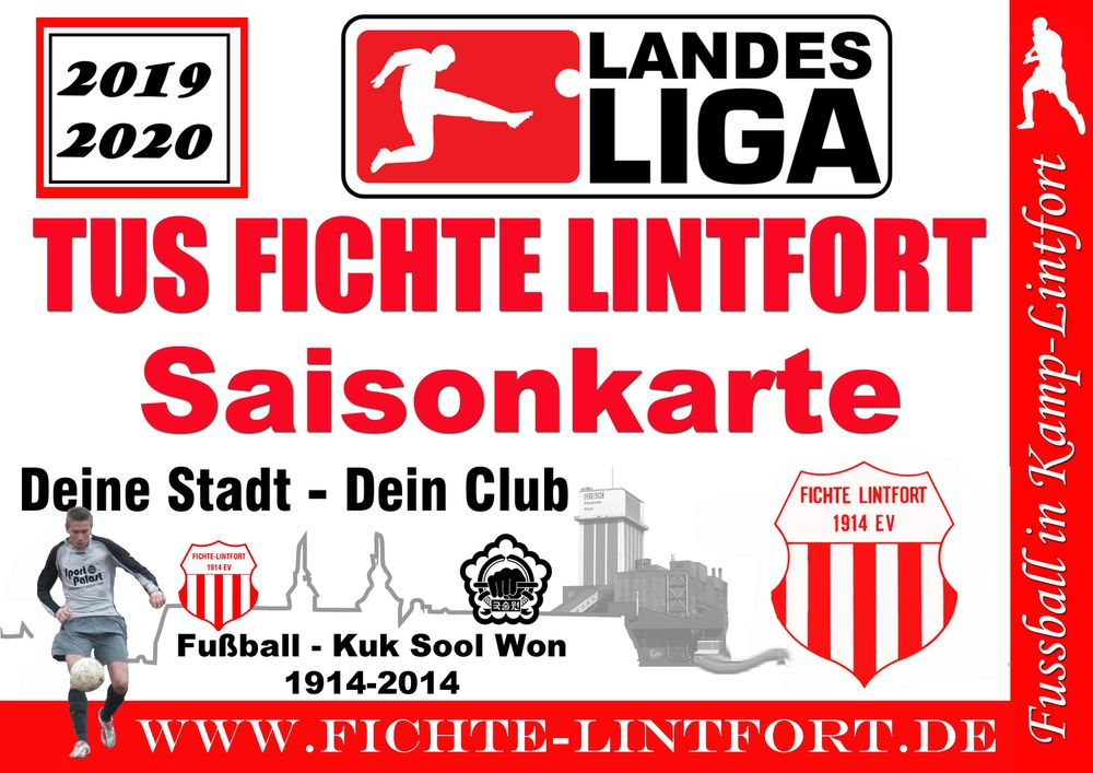 Dauerkarten Vorverkauf 2019/2020 Landesliga